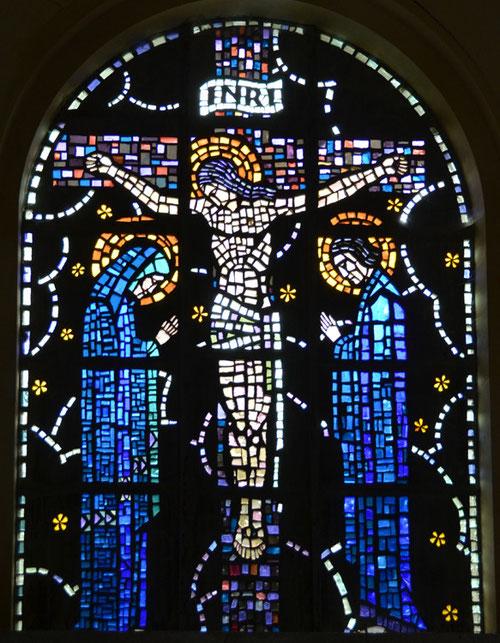 Eglise St-Martin de Dancourt- Crucifixion de Jean Gaudin