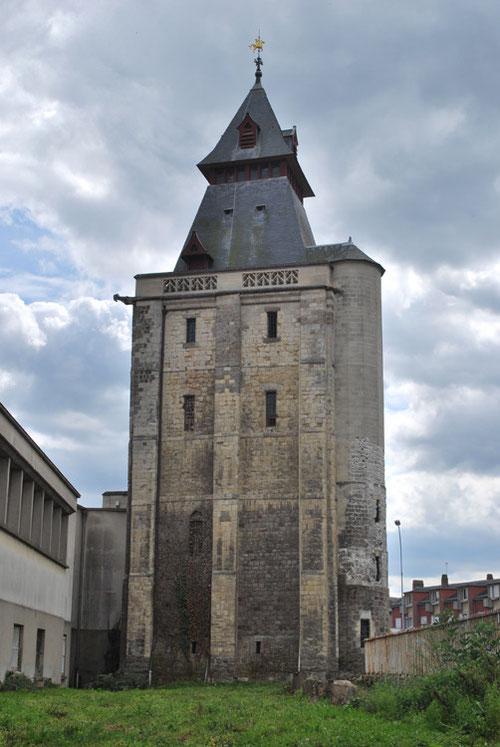 Le Beffroi d'Abbeville- Vue de l'arrière