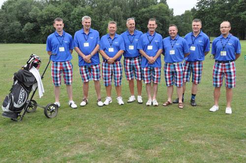 Das siegreiche Team aus Grossbritannien