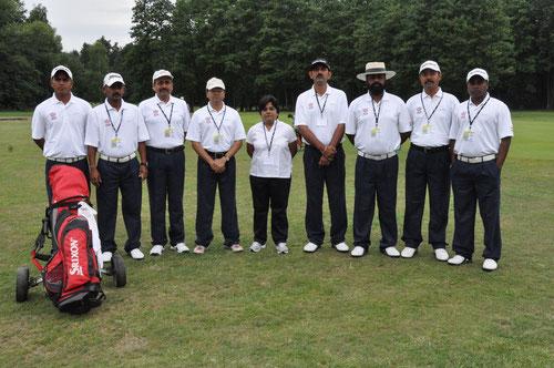 Das Team aus Indien