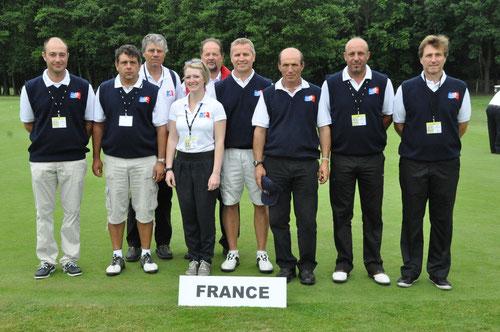 Das Team aus Frankreich