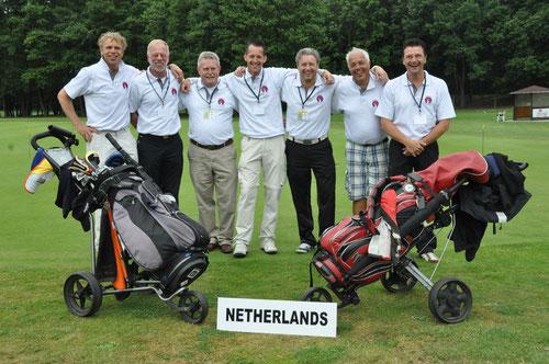 Das Team aus den Niederlanden