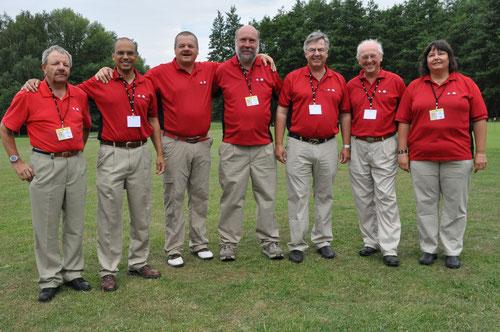 Das Team aus der Schweiz