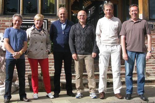 Das CFL-Team: Gust Klein. Karin Cornaro. Patrick Butti, Roland Tex, Jean-Paul Dittgen, David Lieners.