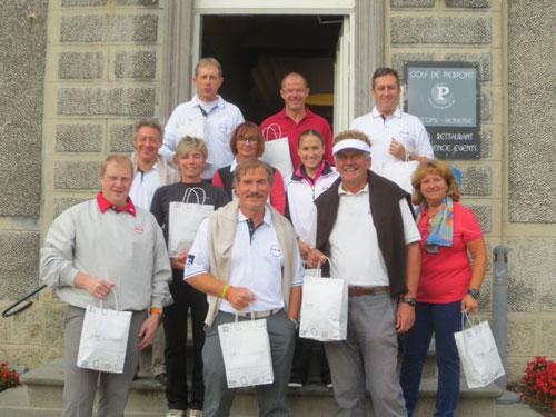 Die Teilnehmer der Abschlussfeier der Saison 2013 in Pierpont