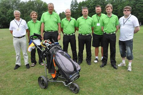 Das Team aus Dänemark