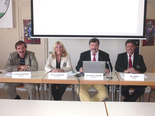 Die Pressekonferenz fand im Casino Syndical in Bonneweg statt