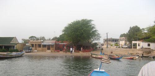 Embarcadere de Ndangane Campement