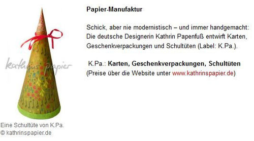 Kathrins Papier - börsenblatt.net