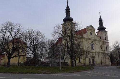 Die ehemalige Wallfahrtskirche in Turas bei Brünn