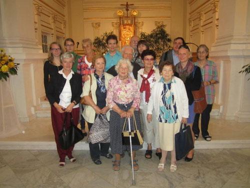 Deutschsprachiger Gottesdienst für Frau Stroner am 10.9.2014