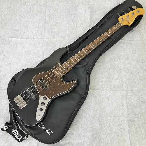 Cool-Z クールジー 島村楽器 エレキベース ZJB-1R/BK  Jazz Bass タイプ