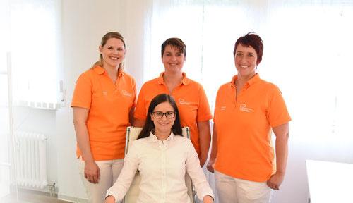 Zahnarztpraxis Osterburken - Zahnärztin Sarah Mayer mit Team