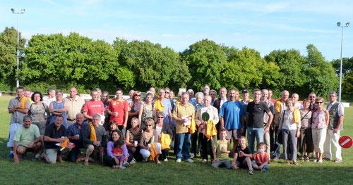 Le groupe des bénévoles 2011