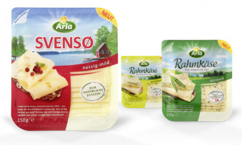 Arla -  Svenso - Rahmkäse  - Packaging - Design - 2010 - Verpackung