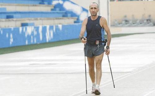 Durante la consecución de 4 records, incluido los 300 km, Can Misses Ibiza, agosto 2013