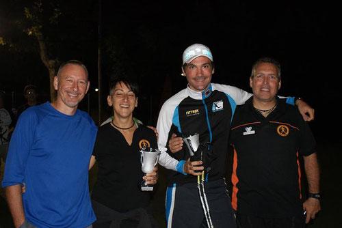 tres instructores FITTREK , de cada punta de España, unidos en una carrera. Un saludo amigos.