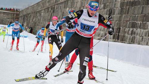 Donde quedó el paso clásico, pues para otras cosas, pero no tanto en la competición de esqui nórdico