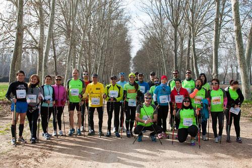24 participantes en la media de Aranjuez 2015