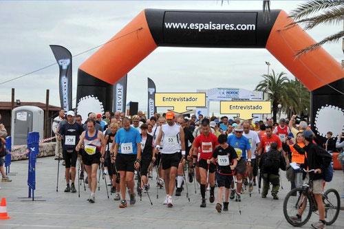 Salida Endurance Nordic Walking Series , Calafell 2010