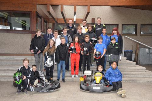 Unsere fast vollständige Motorsport Jugend