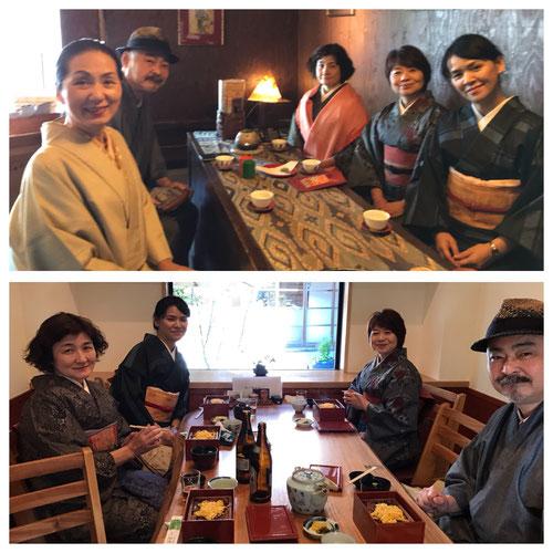 柳川にて、老舗のお茶屋さんと 鰻のセイロ蒸しに舌鼓。