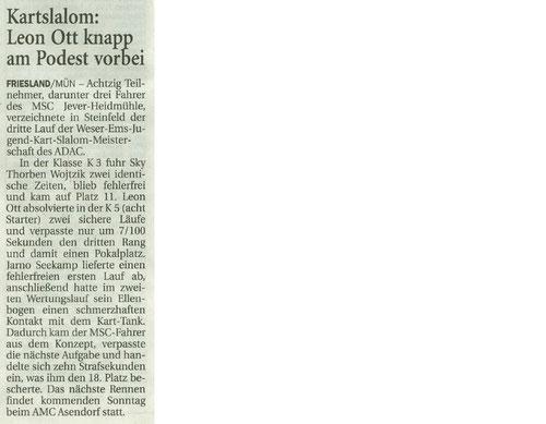 Wilhelmshavener Zeitung 18.05.2017