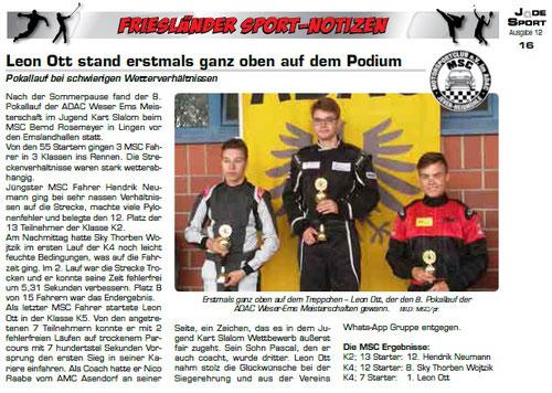 Jade Sport Ausgabe Oktober