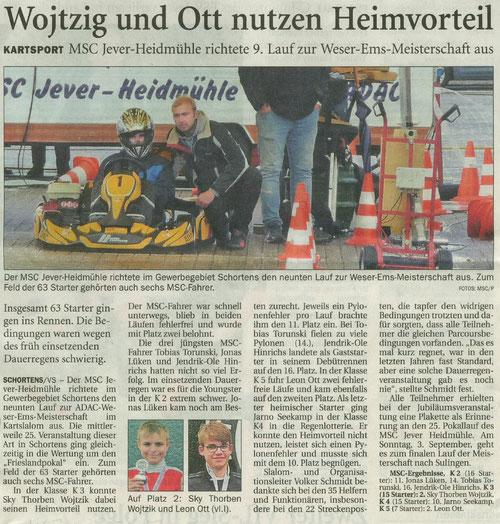Wilhelmshavener Zeitung vom 22.08.2017