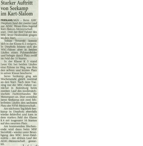 Wilhelmshavener Zeitung 10.05.2017
