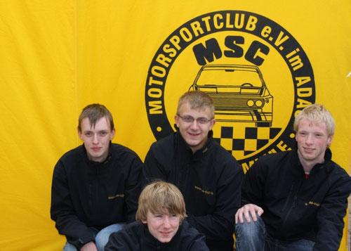 Die SE-Cup Fahrer 2010