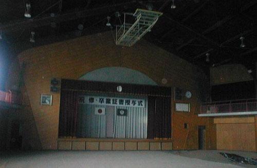 請戸小学校の体育館