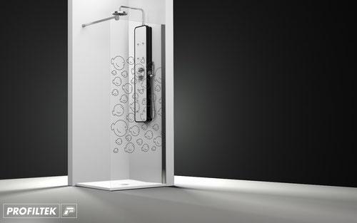 Mampara de ducha fijo Profiltek One OT-2000