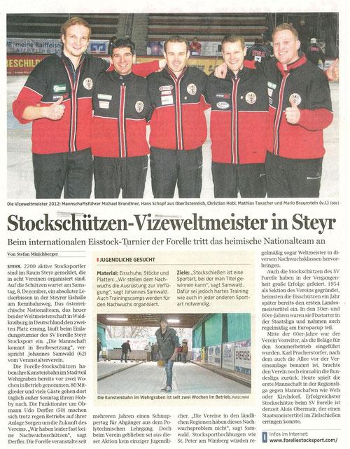 Bericht OÖN 28.11.2012