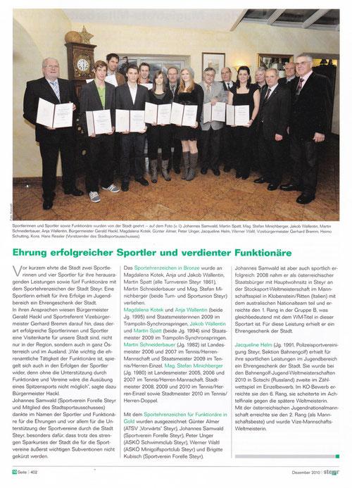 Steyrer Amtsblatt 12-2010