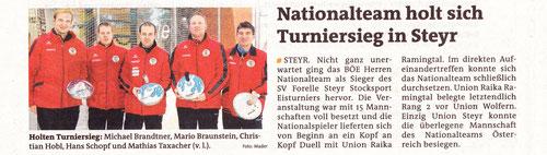 Bericht Bezirksrundschau 13.12.2012