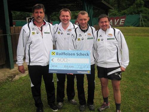 USC Abersee - Gewinner 14. Int. Euro-Turnier SV Forelle Steyr Stocksport