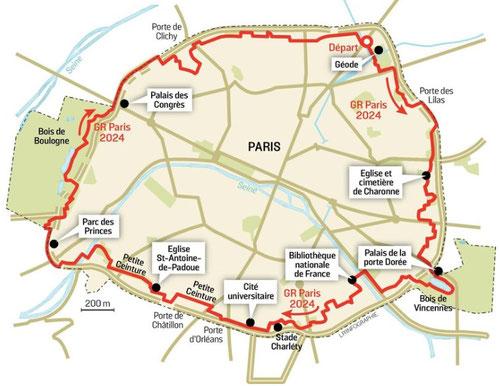 Toute les porte du peripherique maison design - Plan du peripherique parisien les portes ...