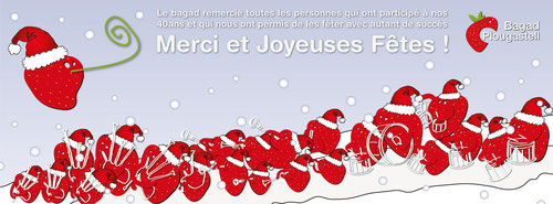 merci et joyeuses fêtes 40ans bagad plougastell