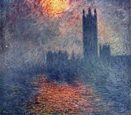 Claude Monet, Londres Le Parlament.1904