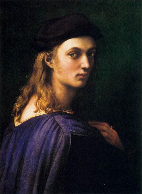 Bindo Altoviti,1516-18.Rafael.59x43cm.National Gallery Washington. Figura en busto de perfil o tres cuartos que gira la cabeza para mirar al espectador. Posee una clara dimensión psicológica.