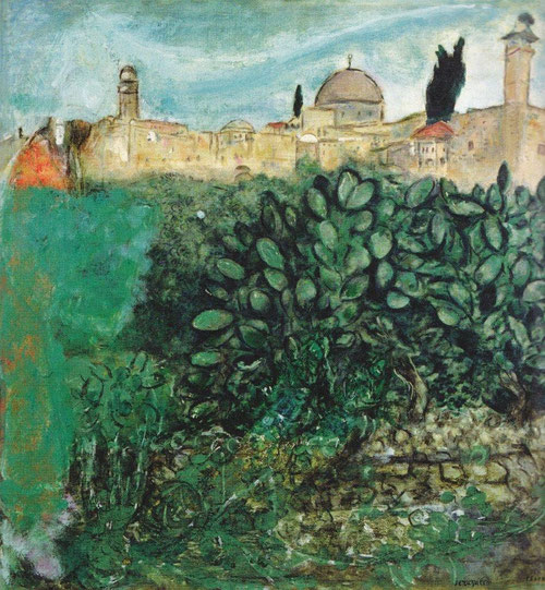 Jerusalén.1932-37. Clección privada.