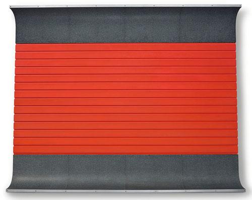 Donald Judd,Sin título,1962.Donald Judd, artista estadounidense. Su obra se basa en el espacio y la realidad. Judd comenzó a trabajar como pintor, pero su trabajo evolucionó a objetos independientes en tres dimensiones.
