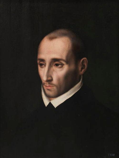 San Juan de Ribera,1566,óleo sobre tabla de roble.M.Prado. Inesperado precursor del llamado retrato civil, en la que puso el foco de atención en la capacidad de Morales como retratista.