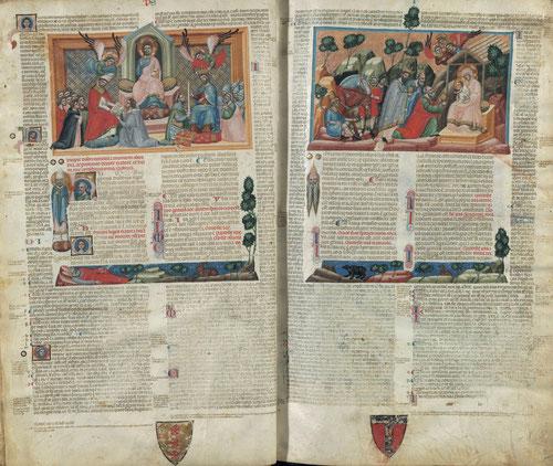 Ejemplar único por ser la primera compilación de la doctrina de la Iglesia Católica en materia de derecho canónico.