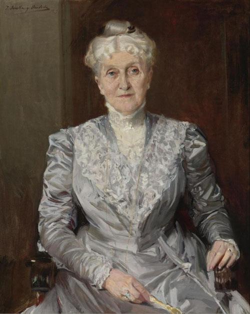 Emily Perkins,1909.Óleo sobre lienzo.92x74cm.Colección Perez Simón, México.
