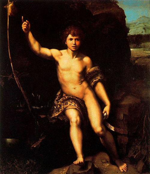 Rafael y taller.1517, Galería Uffizi. Una pintura famosa, muy popular y accesible para comunicar un mensaje religioso en plena Reforma.