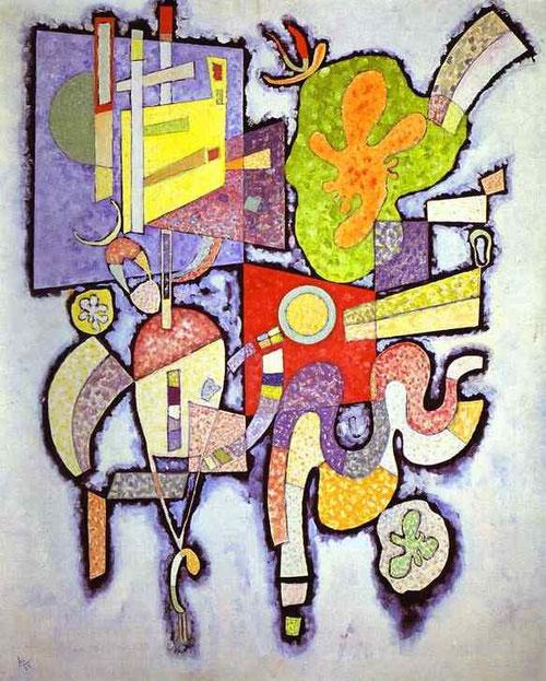Complejidad simple.Título atribuido:Ambiguedad,1939.Óleo sobre lienzo.100x82cm