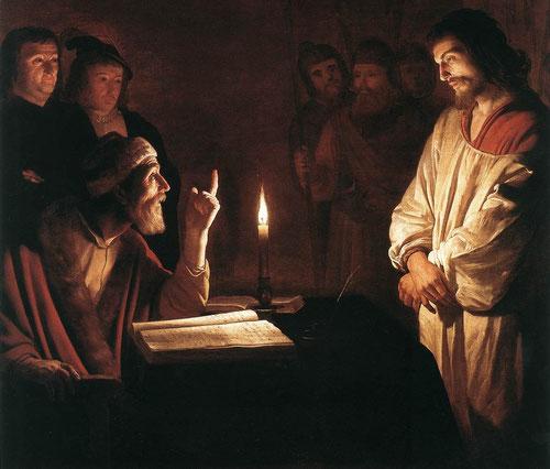 Gerrit van Honthorst.(1590-1656) Cristo ante Pilatos
