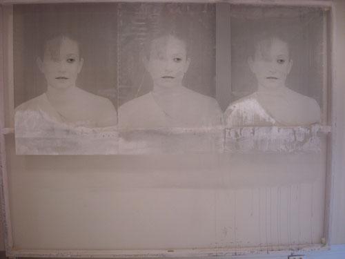 Las tres gracias. 230x175cm. Técnica mixta.2011